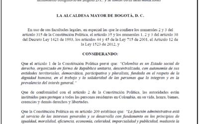Decreto 143 de 2020